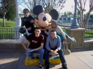 Mickey statues